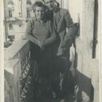 Nonno e Celeste in Baia